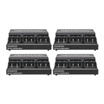 Kenwood KNWD-KMB-44K (4-Pack) Six unit charger