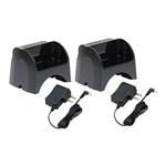 Kenwood KNWD-KSC-44K (2-Pack) Li-Ion Rapid Charger for KNB-71L battery
