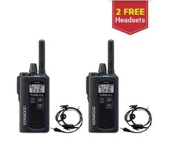 Kenwood Walkie Talkies / Two Way Radios   2 Radio kenwood protalk uhf digital 2 watt portable radio nx p500