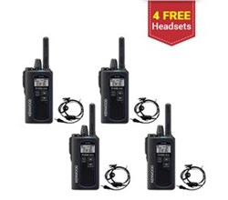 Kenwood Walkie Talkies / Two Way Radios 4 Radio kenwood protalk uhf digital 2 watt portable radio nx p500