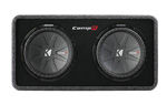 """Kicker CompR 40DCWR12-2 Brand New  The Kicker CompR 40DCWR12-2 is a dual 2-Ohm subwoofer that combines advanced components and superior technology"