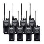 Kenwood TK3400U4P (8 Pack) Two Way Radios - Walkie Talkie