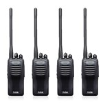 Kenwood TK3402U16P (4 Pack) Two Way Radios - Walkie Talkie