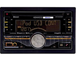 """Kenwood DPX500BT, The Kenwood DPX500BT is a CD receiver with built-in bluetooth that brings the convenience of hands-free calling and wireless music streaming"